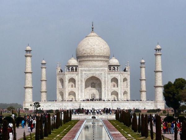 #Đền thờ Taj Mahal - Kỳ Quan Thế Giới