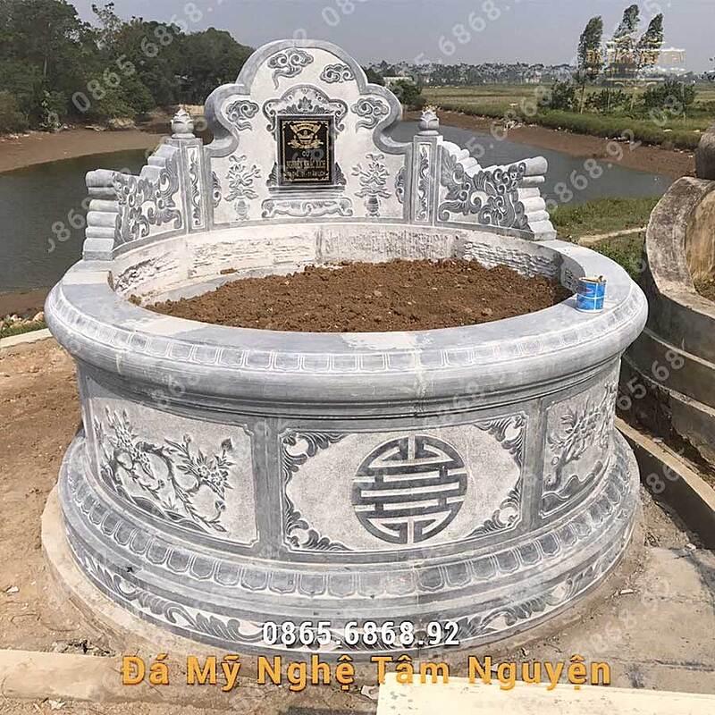 mộ đá tròn