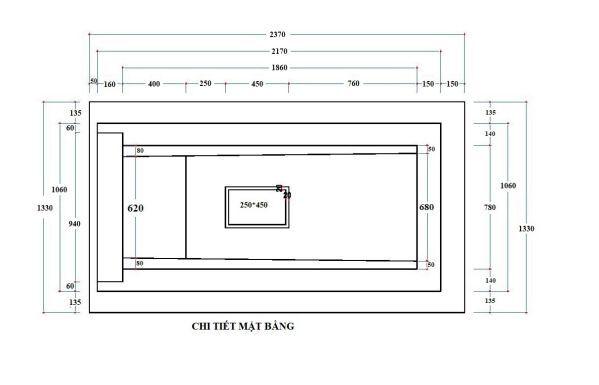bản vẽ thiết kế xây mộ